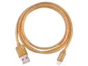 5G Radium Rays 1M 3.5mm USB Charger Cable For iPhone5/iPhone5S/iPhone 5C/iPad Tablets