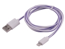 5G Candy Line 1M 3.5mm USB Charger Cable For iPhone5/iPhone5S/iPhone 5C/iPad Tablets