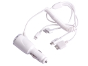 5V 4-in-1 USB Cable Car Charger For iPad/4G/4S/p1000/Micro/iP5/Mini iPad/Note 3/S5