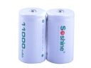 Soshine D/R20 1.2V 11000 mAh Rechargeable Ni-MH Battery