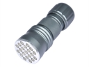 UV LED 395-400nm 21 LED Flashlight Torch