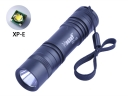 Hugsby XP-13 CREE XP-E R3 LED 350Lm 1 Mode Tail Switch LED Flashlight Torch