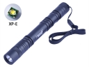 Hugsby XP-12 CREE XP-E R3 LED 350Lm 1 Mode Tail Switch LED Flashlight Torch