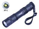 Hugsby XP-16 CREE XP-E R3 LED 350Lm 1 Mode Tail Switch LED Flashlight Torch