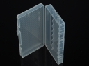 Transparent 8xAA / 8*14500 Battery Plastic Case Holder Storage Box