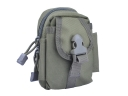 Multifunction the shoulder bag Messenger bag Outdoor pockets Bag Kit(Army Green)
