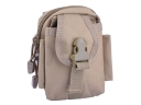 Multifunction the shoulder bag Messenger bag Outdoor pockets Bag Kit(Gray)