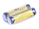 SKY RAY SR14500 900mAh 3.7V Protected Rechargeable li-ion Battery 2-Pack
