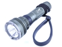 3*CREE XML T6 LED 2 Mode 3000Lm Aluminum alloy LED Diving Flashlight Torch (Titanium)