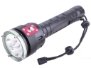 5 * CREE XM-L L2 LED 4900 Lumens 5 Mode Elastic Reset LED Diving Flashlight Torch