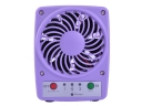 F001 3 Mode New Portable Mini Fan USB Rechargeable 18650 Battery Cooling Fan