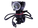 CREE T6 LED 920 Lumens 3 Mode Compass LED Bicycle Headlight(Black)