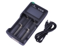XTAR VC2 2 Slot Digital Displays Intelligent Charging Battery Charger