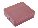 Soshine 4*18650 / 8*18350 Battery Plastic Case Holder Storage Box(Brown)