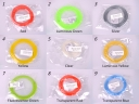 ABS Filament Material For 3D Pen Printer 1.75mm Plastic Rubber Consumables(18 kinds of colors)