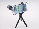 Metal Lens 90' 12x Telephoto Optical Camera Telescope Telephoto Monocular Phone Lens for Samsung Galaxy S3 free shipping