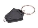 Mini Portable Rhombus Plastic LED Keychain - UV Light