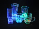 Colourful Transparent Plastic Inductive light Cup Five choices