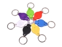 Plastic White Light LED Keychain 7-pcs (7 Color)