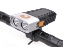 2*CREE XPG-R5 LED 500 Lumens 5 Mode Button switch LED Bicycle Headlight