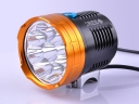 9*CREE XML-L2 LED 5000 Lumens 4 Mode Rechargeable Battery LED Bicycle Headlight