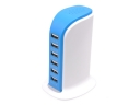 30W 5Ports USB Wall Charger Travel Portable Power Adapter