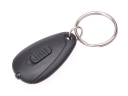 Portable Plastic Oval F5 LED Keychain - White Light