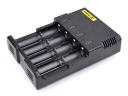 Nitecore i4 US 4 Slot Microcomputer Controlled Intelligent Charger Li-ion/NiMH Battery Charge