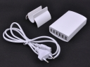 6-Port USB Charger Fast charge high efficiency international Charger