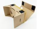Hot Selling DIY 3D Google Cardboard 2nd box With NFC Custom Logo Print Google cardboard 3D vr glasses for promotional gifts 1.0
