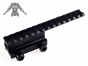 Y0032-G 150mm Tactical Gun Mount Rail Weaver Adaptor For Flashlight/scopes Mount