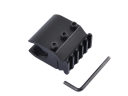 T2011 21mm Tactical Gun Mount with 21mm Mount Rail