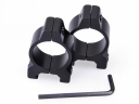 H2001 Alumnum Alloy 25mm Ring 19mm Rail Weaver Tactical Gun Mount