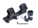 LD 3003-B Tactical Flashlight Mount 25mm/30mm Daul Rings Mounts for 21mm Rails