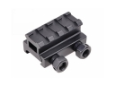 D0028 Aircarft Aluminum Alloy 21mm Picatinny Rail Weaver Adaptor Tactical Flashlight Scope Mount Weaver with 2 stop pin