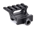 Aluminum Alloy 32mm high 21mm Raise Rail with Picatinny Rail weaver for tactical flashlight /scope