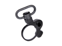 BDH019 Heavy Duty Hunting Gun Sling Buckle 30mm Tube Ring With Stop pin Gun Sling Clasp Buckle