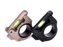 SPY11 25/30mm Aluminum Alloy Tactical Accessories Hunting Gun Ring Mount with Green Bubble Level