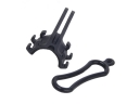 Multifuctional Bicycle Flashlight Mount / Bike Computer Extension Bracket / Number Plate Holder