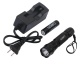 SZOBM CREE Q3 LED Flashlight with Battery and Charger