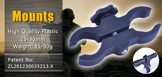 High Quality Plastic Mount for Torches